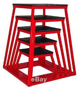 Plyometric Platform Box Set of 5