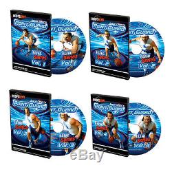 Point Guard Elite 4 Pack Volumes 1-4 Basketball Coaching DVDs