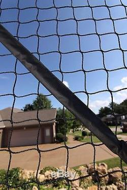 Portable Basketball System Outdoor Foldable Defensive Net Landscape Protector