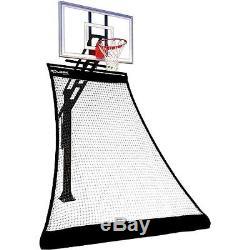 Portable Rolbak Training Gold Basketball Guard Barrier Net Rebounding System New