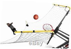Rapid fire ii make or miss ball return, 180-degree