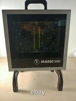 Rare Maric Timing Two Digit Shot Clock and Horn with Stand MD26ST