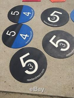 Read And React Floor Markers
