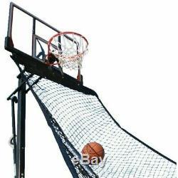 Rebound Roll Back Net Attachment Basketball Practice Ball Return 30lbs Support