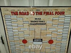 Road to the Final Four Basketball magnetic Board magnets brackets 2000 dry erase