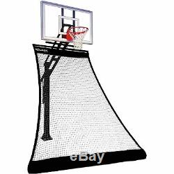 Rolbak Gold Foldable Basketball Return Net with 1 Refillable Water Tube, and
