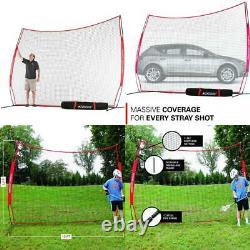 Rukket 12X9Ft Barricade Backstop Net, Indoor And Outdoor Lacrosse, Basketball, S
