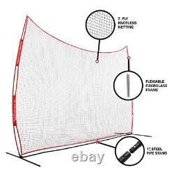 Rukket Barricade Backstop Net Indoor and Outdoor Lacrosse, Basketball, Soccer