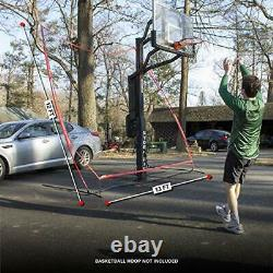 Rukket Basketball 12x13 Return Net Guard and Backstop, Hoop Rebound Back Netting
