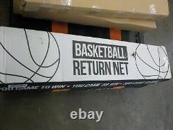 Rukket Basketball Return Net Guard and Backstop, Hoop Rebound Back Netting Attac