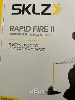 SKLZ Basketball Training Aid Rapid Fire II Make or Miss 180 Ball Shot Return