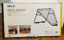 SKLZ Basketball Training Solo Assist Rebounder + SKLZ Shot Spot Training Markers