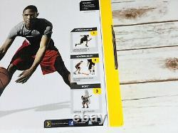 SKLZ Basketball Training System 3-in-1 Essentials Kit, Quick Moves, Reaction