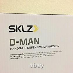SKLZ D-Man Defensive Basketball Indoor/Outdoor Trainer Shot Blocker BLUE