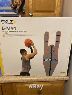 SKLZ D-Man Defensive Basketball Trainer Black