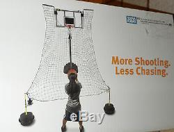 SKLZ Rapid Fire Basketball Ball Return Trainer System Make or Miss 180 degre NEW