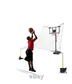 SKLZ Rapid Fire II Basketball Pole Ball Return Trainer net backboard make ormiss