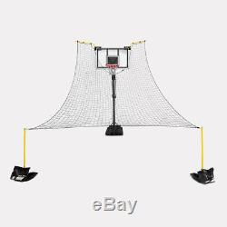 SKLZ Rapid Fire II Make or Miss Ball Return, 180-Degree