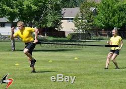 SPEEDSTER Dual Resistance Nylon Trainer Speed 2 Athlete Training Tether Harness