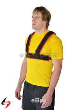 SPEEDSTER Speed Training HARNESS BELT & TOW LINES Power Drag Sled