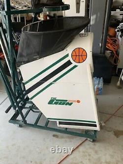 Shoot-A-Way 6000 Ball Return Training Sys THE GUN Basketball Shooting Machine