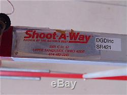 Shoot-A-Way Basketball Return-Training Aid-Tracks Extends From 15'-22' SR421