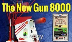Shoot-A-Way Gun 8000 Basketball Rebounding Machine