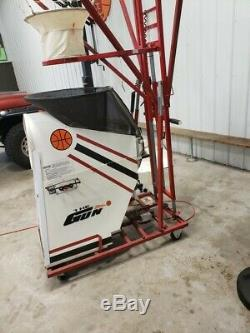 Shoot Away Gun Rebounder Basketball Machine