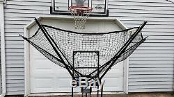 Shoot More Basketball Jump & Foul Shot Rebounder Dr Dish IC3 ball return machine