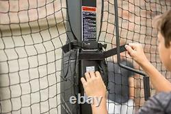 Silverback Basketball Yard Guard Defensive Net System Rebounder with Foldable Net