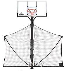 Silverback Basketball Yard Guard Defensive Net System withFoldable Net B5450W