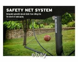 Silverback Yard Guard Basketball Defensive Net Wall system Foldable Rebounder