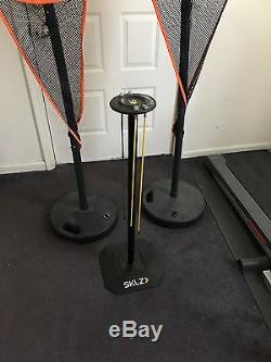 Skilz basketball training package dribble stick and two wavy guys. Take a look