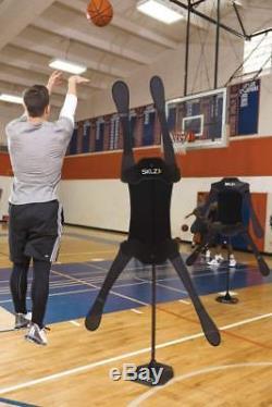 Sklz D-Man Pro Elite Basketball Defensive Mannequin For Offense And Defense Dr