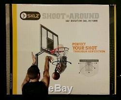 Sklz Shoot-around 180 Degree Rotation Basketball Return Brand New In Box