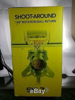 Sklz Shoot-around 180 Degree Rotation Basketball Return, New-sealed