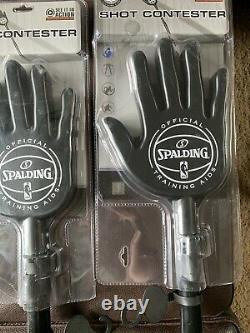 Spalding Shot Contestor, 35-54, Black Set Of Two
