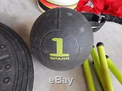 Sparq Youth Training System Football Basketball + 2 DVD's Hurdles Ladder Balance