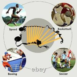 Speed Agility Training Set Footwork Equipment For Soccer Basketball Football New