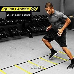 Sport Agility Ladder Speed Training Equipment Set Basketball Foot Training