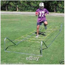 Sport Training Agility Ladder Drills Running Ropes Soccer Football Basketball