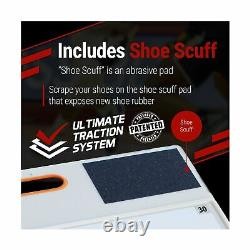 StepNGrip Courtside Shoe Grip Traction Board Includes 30 Sticky Sheets and