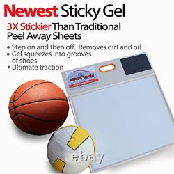 StepNGrip Courtside Shoe Grip Traction Mat Newest Sticky Mat Never Needs for