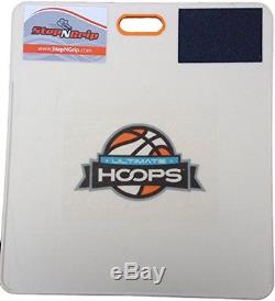 Stop Slipping with 8.5 x 11 inch LARGE CUSTOM LOGO withShoe Scuff Traction