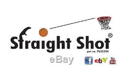 Straight Shot Basketball Shooting Aid Trainer for left and right handed shooters
