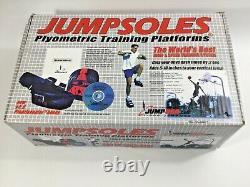Strap-On Jumpsoles Plymetric Training Platforms Explosive Jumping, Mens 11-14.5