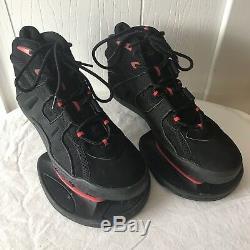 Strength Brand Jump Basketball Training Shoes Men Size 11 Black Red Plyometric