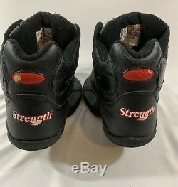 Strength Brand Jump Basketball Training Shoes Men Size 14 Black & Red