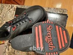 Strength the Ultimate Leg Training System JUMP Shoes and VIDEO Size 10 Black