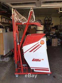 THE GUN 6000 Basketball Shooting Machine By SHOOT-A-WAY